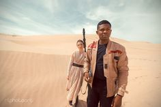 The Real Finn and Rey by RLphotoArt