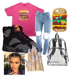 """burger"" by fashionforlife13 ❤ liked on Polyvore featuring Retrò and International"