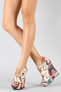Not a super huge fan of wedges, but these are really cute.
