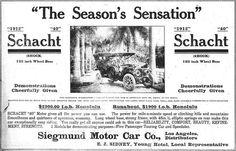 Schacht Car | 1912 Schacht. Runabout, $1,900 f.o.b. Honolulu… | Flickr