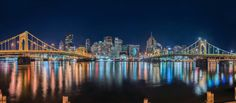 Pittsburgh from the North Shore, by Dave DiCello