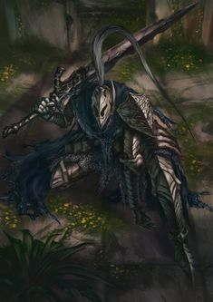 DS персонажи,Dark Souls,фэндомы,Artorias The Abysswalker,Fadly Romdhani