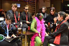 Matt Miller, Killbane, Viola, Kiki, Philippe and the Morning Star hang out at Comic Con.