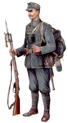 Ukranian Rifle Regiment, Sergeant 1917-19