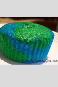 Bake EARTH DAY CUPCAKES