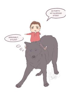 :D Until that prompt, here's some chibi silliness :D Teen Wolf Art, Teen Wolf Ships, Teen Wolf Funny, Teen Wolf Memes, The Journey Of Flower, Deadly Females, Sterek Fanart, Wolf Children, Wolf Stuff