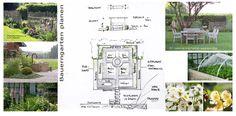 Bauerngarten planen und gestalten - Skizzen, Ideen und Bilder sammeln