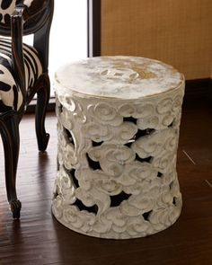 Antique Garden Stool - Neiman Marcus... Beautiful but way out of my price range!!!
