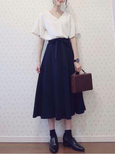 Korean Fashion – How to Dress up Korean Style – Designer Fashion Tips Classy Outfits, Pretty Outfits, Vintage Outfits, Cute Outfits, Korean Fashion Trends, Asian Fashion, Latest Fashion For Women, Modest Fashion, Girl Fashion