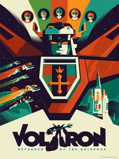 Voltron by Strongstuff