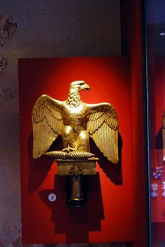 French Eagle at Edinburgh Cathedral. Touched by Napoleon himself.