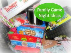 Family Game Night Ideas @Lisa Phillips-Barton Phillips-Barton Phillips-Barton Phillips-Barton Samples