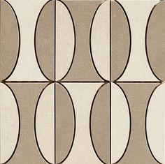 Decoro B Taupe/Ivory 30x30cm