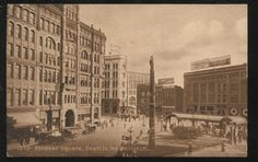 Pioneer Square in 1899.