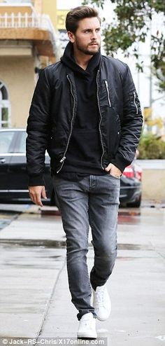 """the most """"thug"""" Scott Disick will ever look lol"""