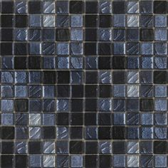 Shop EPOCH Architectural Surfaces 12-in x 12-in Metallic Glass Mosaic Square Wall Tile (Actuals 12-in x 12-in) at Lowes.com