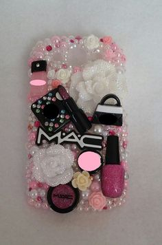 Ultimate Make Up Diva iPhone Samsung Galaxy by ExpressiveCases Diy Case, Make A Case, Diy Phone Case, Iphone Phone Cases, Make Up, Toddlers And Tiaras, Samsung Galaxy Phones, All Iphones, Cool Cases