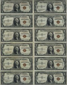This won't be the most expensive lot in today's auction, but it is near the top in terms of desirability and coolness. The latest census of Hawaii sheets stands at just 42 known uncut examples. Where they are hiding is anyone's guess, because they certainly aren't as available as that total would suggest. The sheet we are offering here has been folded between the notes so it is technically only AU