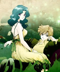 Tags: Anime, Yellow Dress, Bishoujo Senshi Sailor Moon, Yellow Outfit, Blazer, Tenou Haruka, Yuri