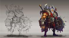 barbarian_concept, Gelar Esapria Kharisma on ArtStation at https://www.artstation.com/artwork/barbarian_concept