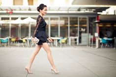 Sheer Dots :: Vintage corset