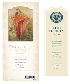 Didi @ Relief Society: New Relief Society Logo - Bookmark and Poster - Portuguese and Spanish