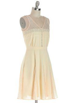 Late Morning Latte Dress, #ModCloth