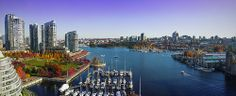 Panorama of Granville Bridge View