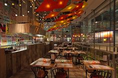 Cabana ( Central St Giles, London, UK) | Michaelis Boyd | Restaurant and Bar Design Awards