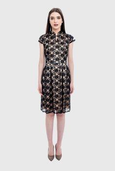 Rochie neagra eleganta MIRELA-N -  Ama Fashion Dresses For Work, Fashion, Moda, Fashion Styles, Fashion Illustrations, Fashion Models