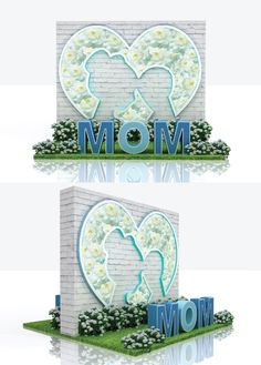 Booth design / Project : Mother's day 2017 / 3D designer : Wee Raya Photo Booth Design, Booth Ideas, Design Projects, 3d, Decor, Stage Design, Decoration, Decorating, Deco