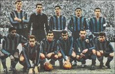 Formazione Inter 1962-1963 Retro Football, Football Team, Big Men, Milan, Old Things, Soccer, Picchi, Heart, Sport