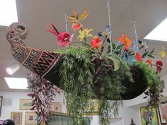 Flower boat from the Enchanted Tiki Room | by The Tiki Chick