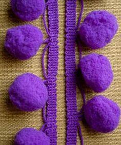purl soho | products | item | large pom pom trim - by the yard (purl soho)