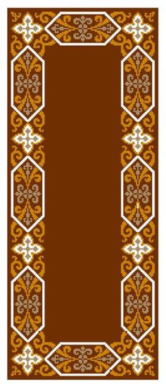 Gallery.ru / Фото #2 - 3 - ergoxeiro Cross Stitch Borders, Cross Stitch Designs, Cross Stitch Patterns, Beaded Embroidery, Embroidery Stitches, Big Rugs, Latch Hook Rugs, Victorian Dolls, Miniature Crafts
