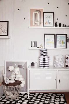 ikea PS cabinet and ferm living basket