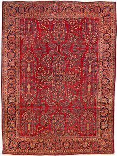 Sarouk carpet  Central Persia  circa 1920  size approximately 9ft. x 12ft.