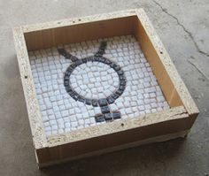 Root Simple: How to Make a Mosaic Stepping Stone