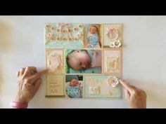 Learn how to make this beautiful pocket scrapbooking page with a video tutorial by Ginger #graphic45 #tutorials