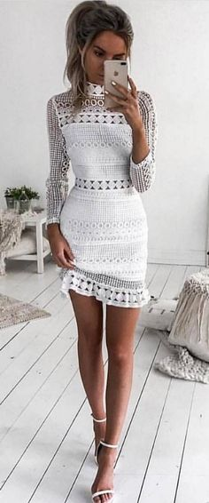 #fall #outfits women's white dress #falldresses