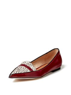 Emma Pointed Toe Loafer from Robert Clergerie on Gilt