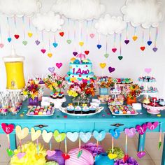 Love rain party