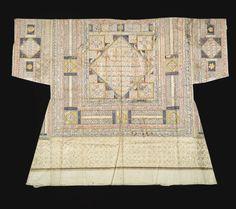 An Ottoman talismanic shirt (tilsimli gomlek), Turkey, dated 991 AD Islamic World, Islamic Art, Ottoman Turks, Turkish Fashion, Ottoman Empire, Historical Clothing, Piece Of Clothing, Art History, Textiles