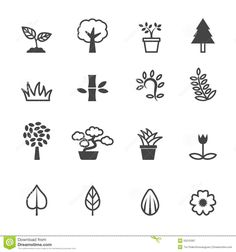 Image result for plant icons