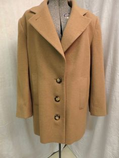 Vintage Camel Hair Jacket 1980's Pure by BonniesVintageAttic