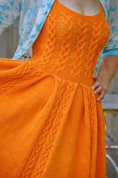 really pretty adaptation of a pattern in this past summer's Interweave Knits - original pattern is for a 'babydoll' dress - which I completely overlooked as too. . . um. . . . babydoll-ish.