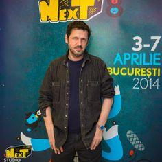 #NexTFilmFestival Jury member Peter Webber at the 2014 NexT Film Festival in Bucharest, Romania