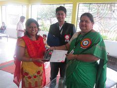 Outstanding work done by volunteer