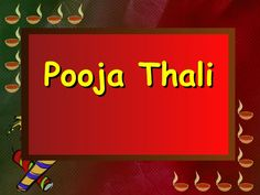 Pooja Thali Manufacturers find here complete information about pooja thali. http://www.slideshare.net/seokaleem/pooja-thalimanufacturers
