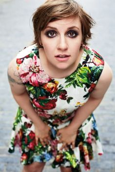 Lena Dunham inspires me. Can't wait for gIrls to start again. Such an addictive show.
